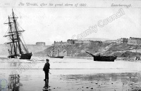 Wrecked Ships at Scarborough